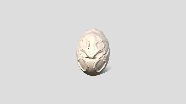 Liam Pokemon Egg 3D Model