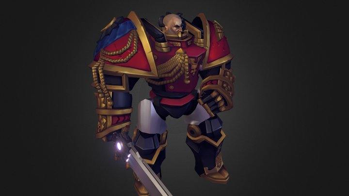 Eric Claymore / Inferno 3D Model