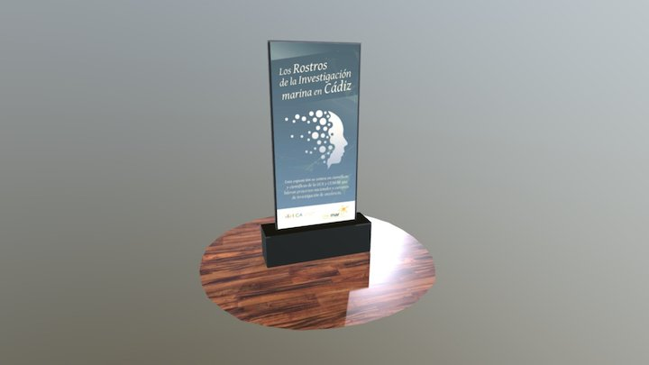Prueba Exposición Investigadores 3D Model
