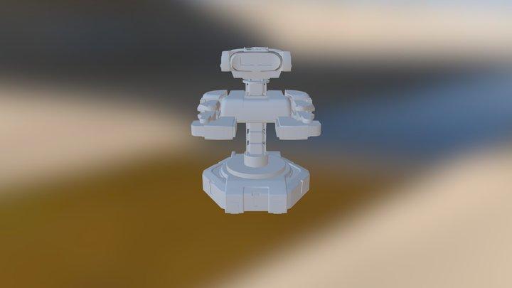 Fit Robot00ProjectM 3D Model