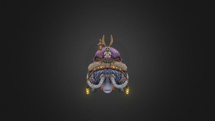 mini monster 3D Model