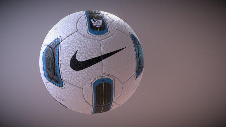 Nike T90 Tracer Ball 3D Model