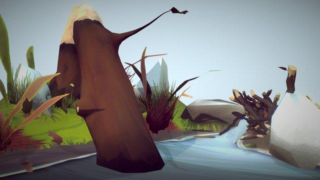 Nature Scene 3D Model