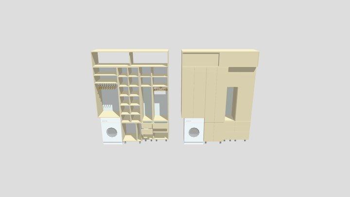 Shkaf Prihozhaja 3D Model