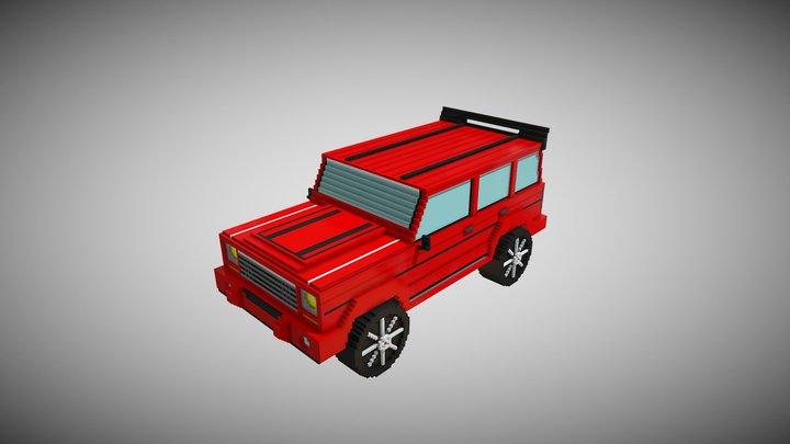 Jeep2 3D Model