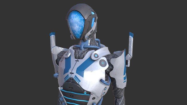Geth Mass Effect 3D Model
