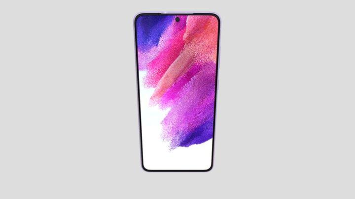 Samsung Galaxy S21 FE in Violet 3D Model