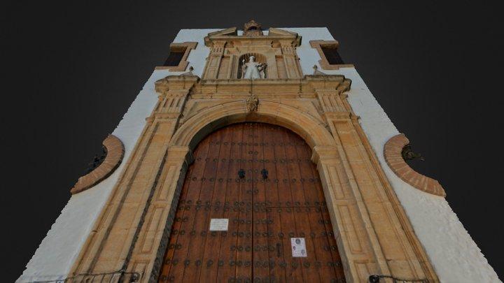 Portada Iglesia de la Merced Ronda 3D Model