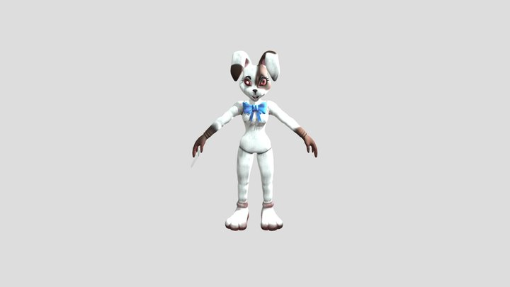 FNAF Security Breach: Vanny 3D Model