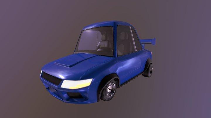 Mehrdad Malek's Racebuddy Model - Tiny Race Car 3D Model