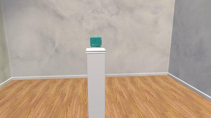 Cardboard Owl Clean 3D Model
