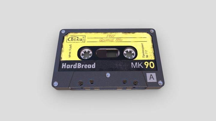 Music Cassette 3D Model