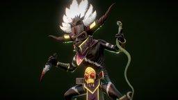 Witch Doctor - FanArt Diablo 3 3D Model