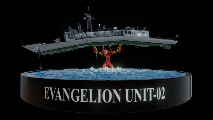 Evangelion Unit-02 3D Model