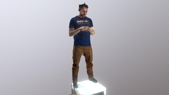 Georg vs RubiksCube 3D Model