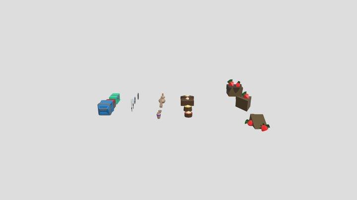 Decoração 3D Model