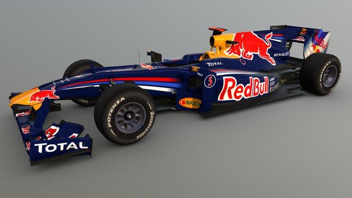 Formula 1 RedBull 3D Model