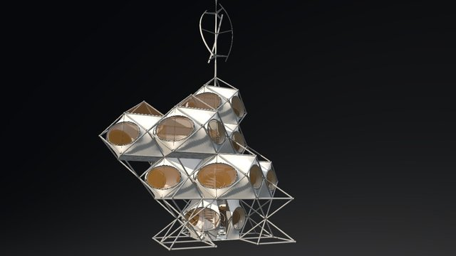 1508 Metabolist pavilion 3D Model