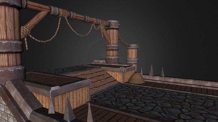 Horde Harbour 3D Model