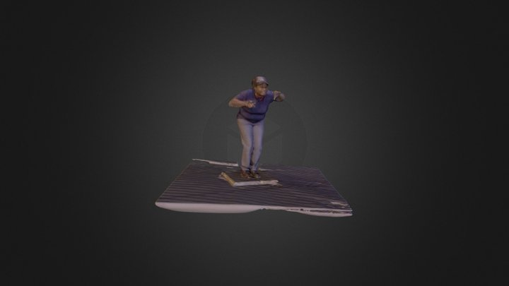 Dawn Gargoyle Pose 3D Model