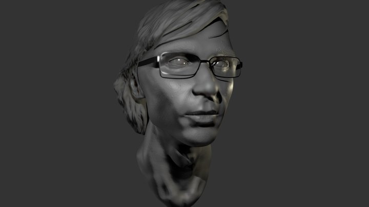 Self portrait sculpt 3D Model