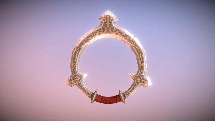 Fantasy Armory - Chakram 01 3D Model