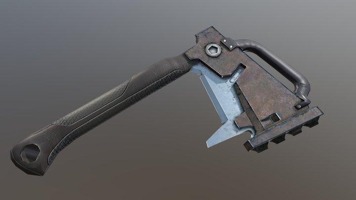 Axe Hammer 3D Model
