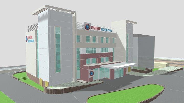 Prime Hospital, Bilaspur (OP 1A) 3D Model