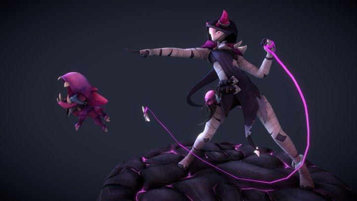 Nora Character Model 3D Model