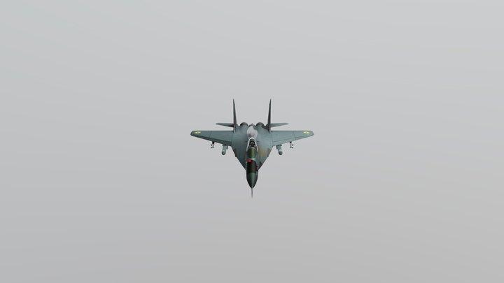 MIG-29K IAF 3D Model