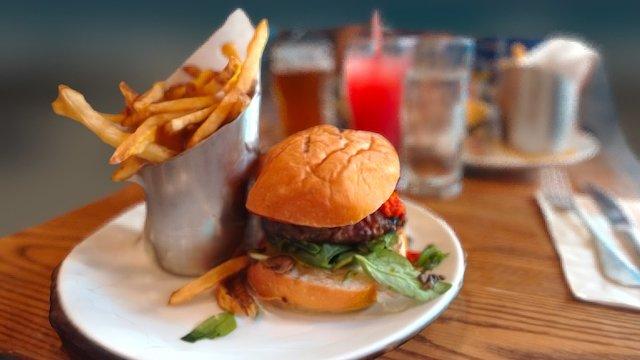 NY State Lamb Burger 3D Model