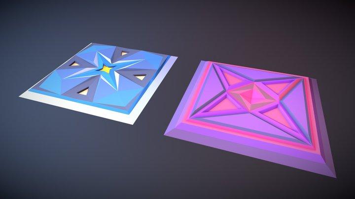 Fantasy Tilesets 3D Model
