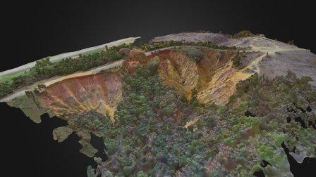 Red Bluff Mississippi - December 11, 2015 3D Model
