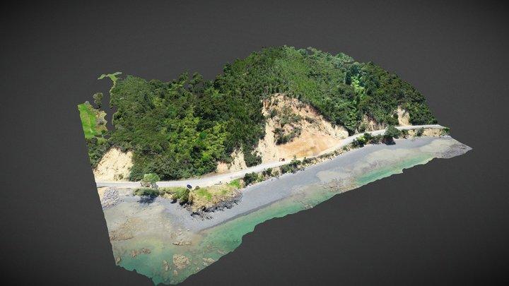 Slip, East Coast Road, Kaiaua 3D Model