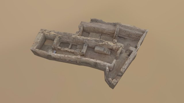 House E13.3-S (Amara West, Sudan) 3D Model