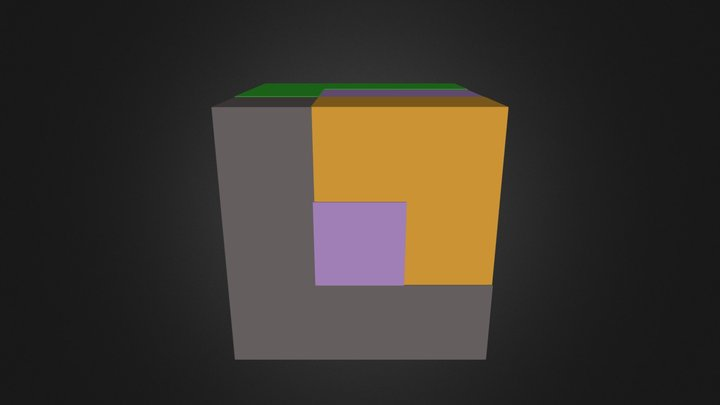 assembly file cube 3D Model