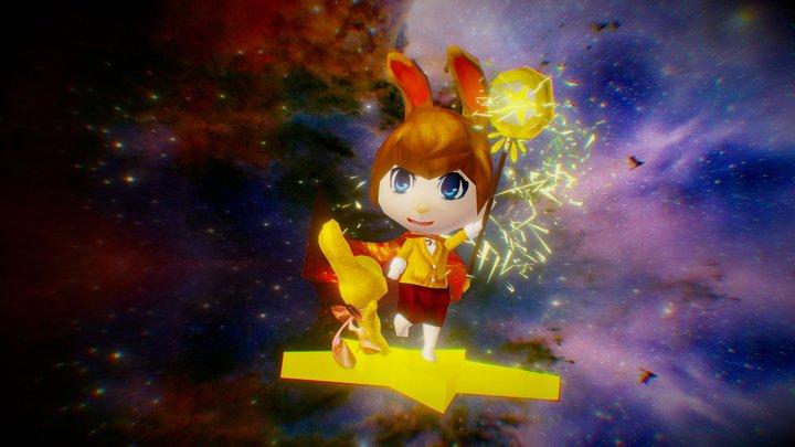 Star Magician4 0 3D Model
