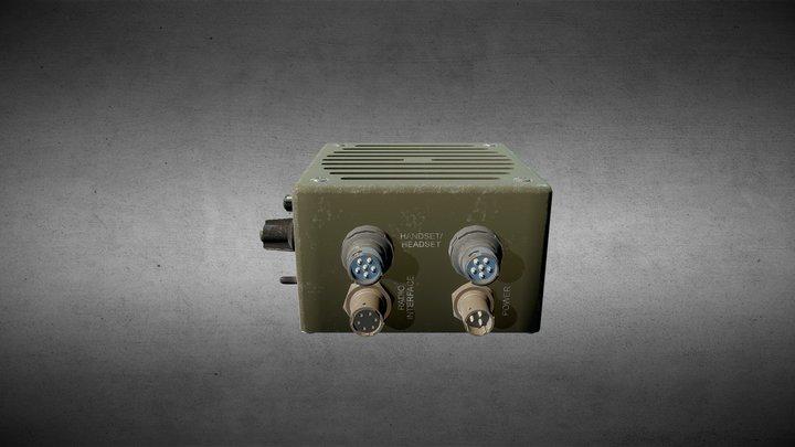 Harris Loudspeaker RF-5980-SA001 3D Model