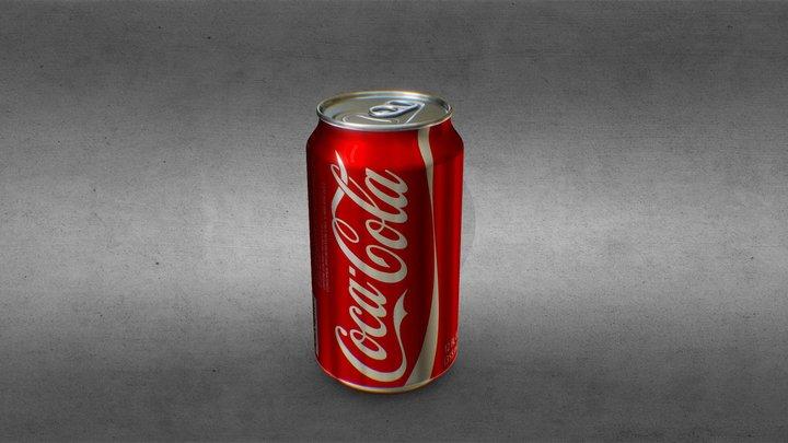 Coke Soda Can 3D Model