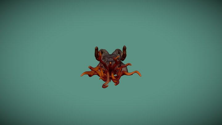 Godhunter creature 3D Model