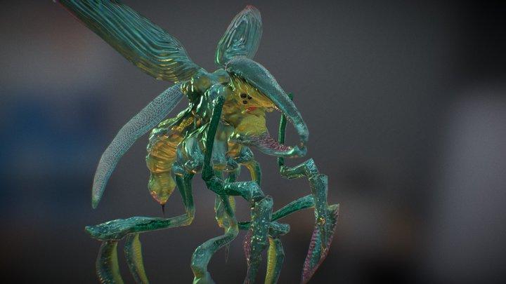 Starship Troopers - Flying Bug -Hopper 3D Model