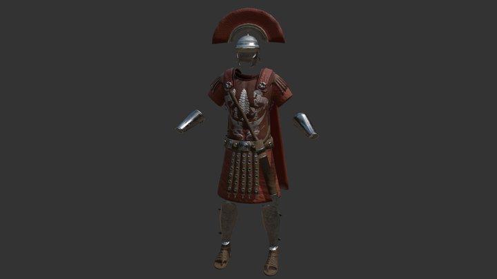 Roman Centurion Armor 3D Model
