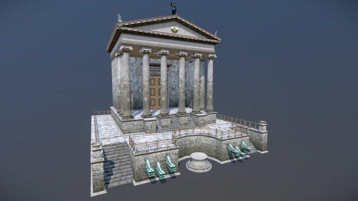 Temple of Divus Iulius 3D Model