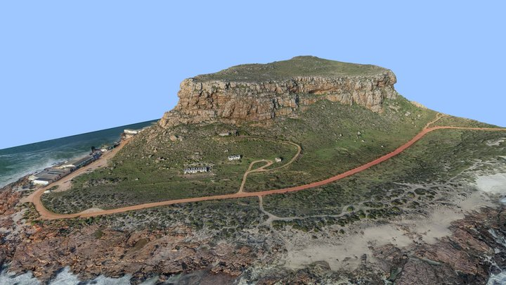 Elands Bay Cave 3D Model