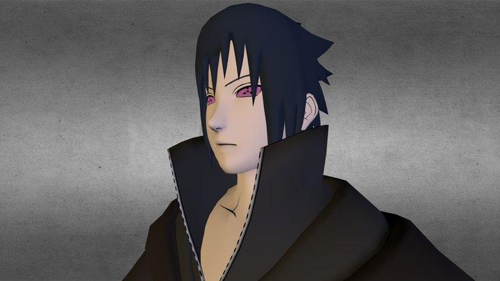 Sasuke Akatsuki 3D Model