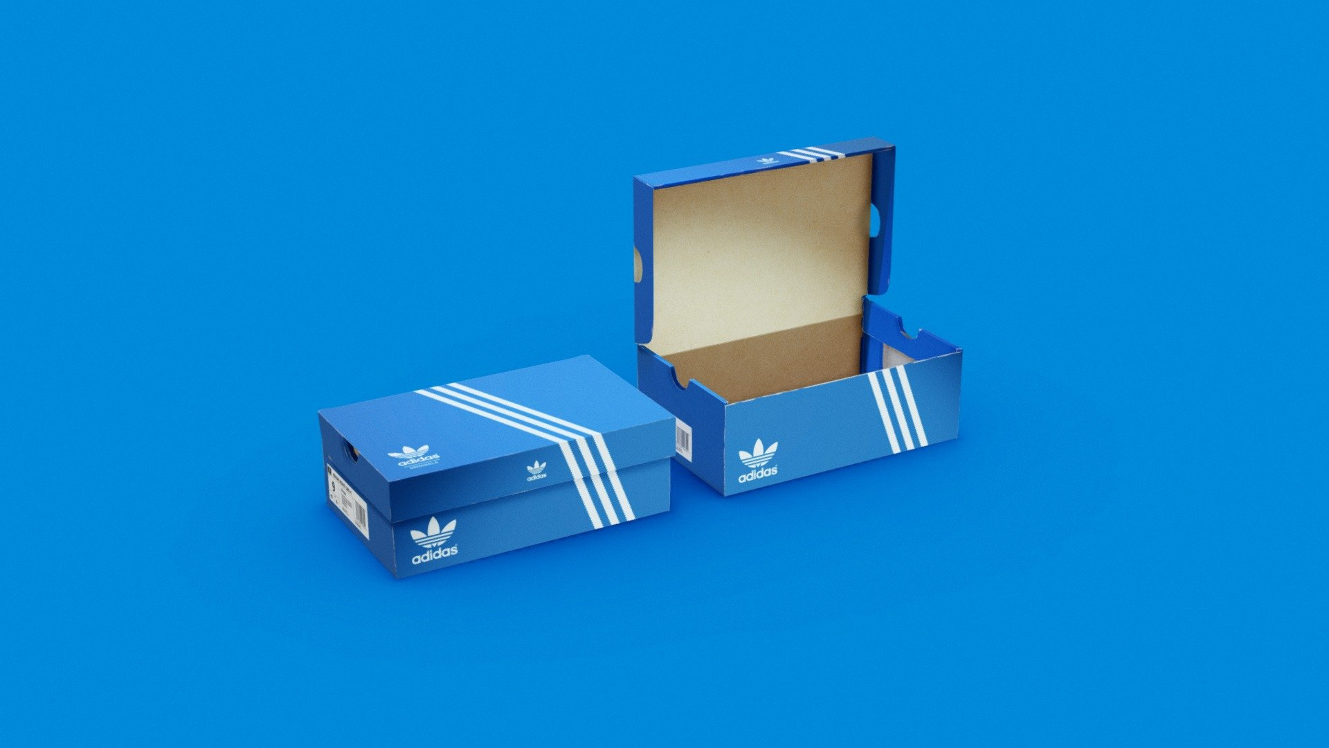 Adidas Shoe Box - Buy Royalty Free 3D model by MAMA's Sneaker Stop ...