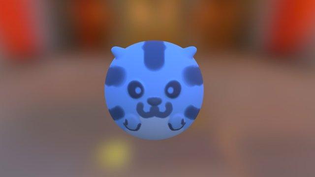 Sushi Cat 3D Model