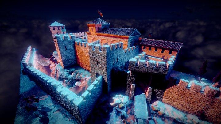 Varna Citadel XIV century 3D Model