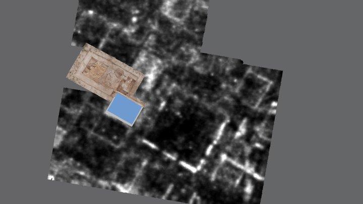 Zona 3. Ciudad romana de El Pueyo 3D Model