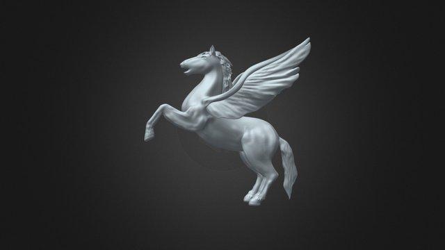 Pegasus 3d model 3D Model